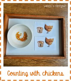 Farm themed Montessori Toddler Activities (free printables)