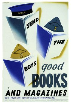 Send The Boys Good Books and Magazines, 1941-1942