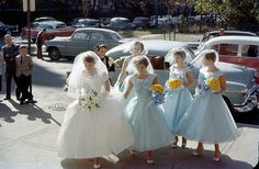 No inspiration here - just a cool pic of a wedding in Wicker Park, Chicago ca.1958
