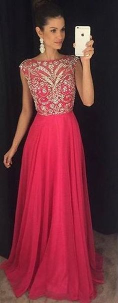 Amazing A-line Fashion Long Prom Dress With Beading ,Wedding Party Dress ,Formal Dress PDS0522