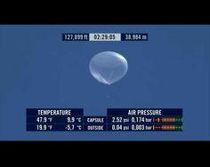 A 38.984 metros @redbullstratos #felibaumgartner