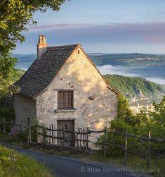 Saint Ciq Lapopie, France