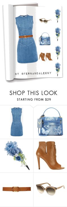 """""""Jeans"""" by fleony on Polyvore featuring Alexander McQueen, Valentino, Accessorize, Jimmy Choo, Lauren Ralph Lauren e Tom Ford"""