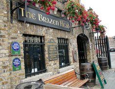 The Brazen Head - Oldest Pub in Ireland, established 1198.