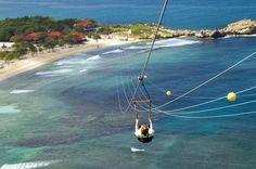 Zipline Labadee Haiti, been there done that!