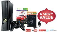 Best Buy Latest Deals - NOVEMBER 22-24, 2012 - Microsoft - Xbox 360 250GB Holiday Bundle $199 (orig 299)