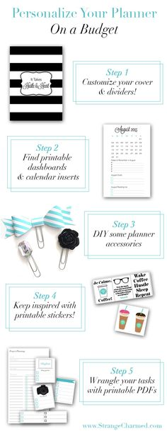 Personalize Your Planner On a Budget