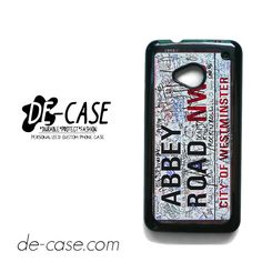 Abbey Road Street Sign For HTC One M7 Case Phone Case Gift Present YO