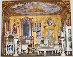 My Baroque Italianate Palazzo Dollshouse by Maureen Caelli - Dolls' Houses Past & Present