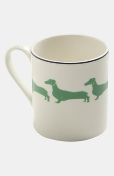 kate spade new york wickford - dachshund mug available at Nordstrom