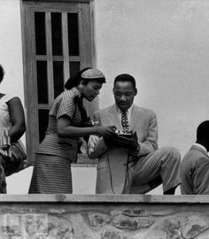 Martin Luther King and his wife Coretta Scott King at the independence day celebration in Accra Ghana, March 1957 at the invitation of Prime Minister Kwame Nkrumah. Coretta Scott King, The Words, Black History Facts, Black History Month, Gentleman, Dr Martins, Civil Rights Leaders, Vintage Black Glamour, Black Celebrities