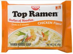 Ramen noodles are the college student's best friend; they're cheap, they're quick to make, and they're tasty. However, after a week of ramen noodles for dinner, you may get a little tired of them. Top Ramen Recipes, Ramen Noodle Recipes, Easy Recipes, Gf Recipes, Diabetic Recipes, Drink Recipes, Asian Recipes, Recipies, Dinner Recipes