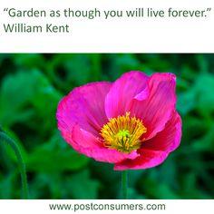 Gardening Quote: William Kent
