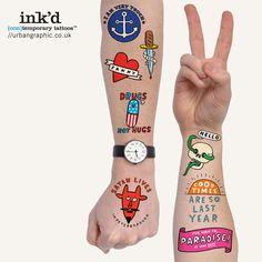 Urban Graphic Ltd. — Temporary Tattoos