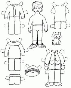 My Delicious Ambiguity: Free Printable Paper Dolls For Boys