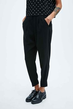 Cooperative by Urban Outfitters - Pantalon slim noir