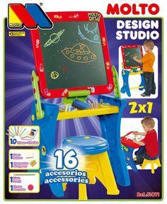 PIZARRA MOLTÓ Y PUPITRE CON TIZAS. REF 11071, IndalChess.com Tienda de juguetes online y juegos de jardin