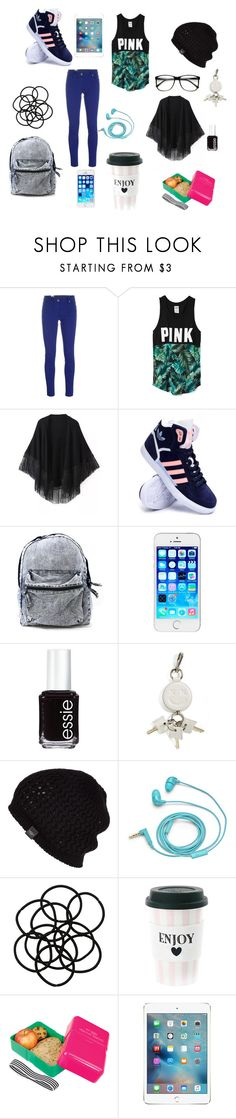 """""""Untitled #26"""" by cupecake-12 ❤ liked on Polyvore featuring M Missoni, Victoria's Secret, Relaxfeel, adidas, Essie, Alexander Wang, UGG Australia, FOSSIL, Monki and Wild & Wolf"""
