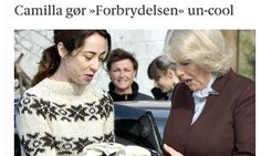 Now Denmark fears Camilla may be killing off The Killing  Following a Guardian piece yesterday, the Danish media is worrying that the Duchess of Cornwall may have made The Killing uncool