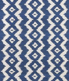 Ralph Lauren Colonsay Ikat Indigo Fabric - $101.2 | onlinefabricstore.net I about died when I saw this If it's beauty wasn't enough the price literally made me spit out my tea! But it's just so pretty.