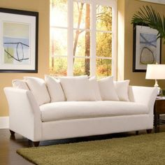 Love the style with all those pillows!! Klaussner Furniture Tripp Sofa - Walmart.com