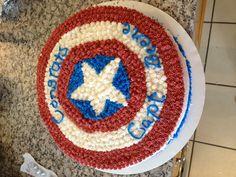 Captain America cake for AF Captain promotion!