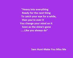 Make u miss me lyrics