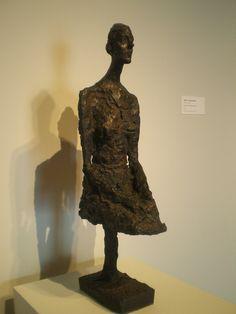Alberto Giacometti 'Large Seated Woman', Milwaukee Museum of Art, Milwaukee, Wisconsin Giovanni Giacometti, Alberto Giacometti, Milwaukee Art Museum, Art And Architecture, All Art, Sculpture Art, Milwaukee Wisconsin, Statue, Portrait