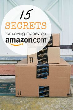 How to Save the Most Money on Amazon! 15 Money Saving Secrets on Amazon.com! Save Money, Saving Money, Budgeting #Budget, #SaveMoney