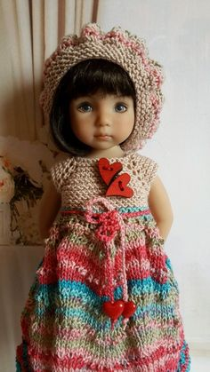 "OOAK Outfit for doll 13"" Dianna Effner Little Darling)collection gradient #DiannaEffner"