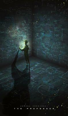 The Professor Andrea Koroveshi Amazing Art Anime Art Conceptual Art Nocturne