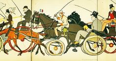 Hop hop hop tous au maap !  Signé SEM bien sur !!! #Pxcity #maaperigord #sem #onyva #onypense #museedefrance #musee #perigueux #perigord #dordogne #capitaleduperigord #JAdorePerigord #jadoreleperigord #caricature #dessin #patrimoine #culture #cheval #caleche #course by maaperigord