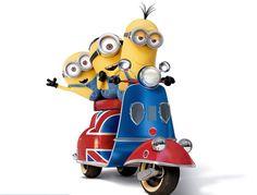 Happy little minions