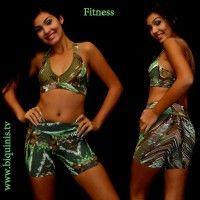 Top + shorts Santo Corpo Ref.9237 Tamanho P.