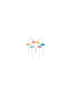 Umbrella Straws - Party Favors & Party Supplies