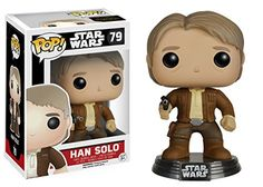 Han Solo Funko POP Star Wars Episode 7 Han Solo Action Figure ** More info could be found at the image url.Note:It is affiliate link to Amazon.