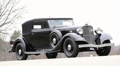 1934 Lincoln KB with Brunn convertible victoria coachwork