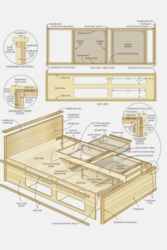 10 Wood Furniture Plans Design No. 13544 Beautiful Wooden Furniture Plans For Your Weekend Woodworking Techniques, Easy Woodworking Projects, Woodworking Furniture, Fine Woodworking, Furniture Plans, Wood Furniture, Furniture Projects, Woodworking Workbench, Furniture Design