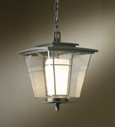 """Hubbardton Forge Lighting and Accessories Hand-Forged in Vermont - 16.1"""" high, prob without chain & mount"""