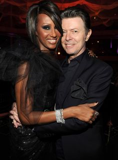 Iman Shares Touching Tribute to Her 'Valentine Forever' David Bowie a Year After HisDeath
