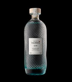 Isle of Harris Gin by Stranger & Stranger, United Kingdom PD Isle of Harris Gin by Stranger & Stranger, United Kingdom PD – Cocktails and Pretty Drinks Beverage Packaging, Bottle Packaging, Brand Packaging, Packaging Design, Branding Design, Whisky, Vodka, Tequila, Alcohol Bottles
