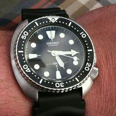 Seiko 6306-7001 JDM 150m diver, Kanji / English daywheel