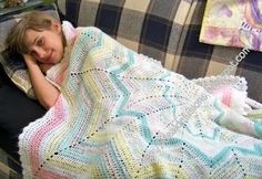 Ideal Delusions: Basic Round Ripple Afghan Pattern