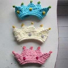 Baby Knitting Patterns Royal Baby Crown Knitting Pattern pattern on Craftsy.com