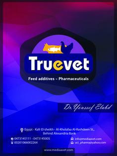 شركة تروفيت Truevet  Feed additives - pharmaceuticals الإدارة : كفر الشيخ - الخلفاء الراشدين. التليفون: 01066002264 -04731445005 - 0473145111
