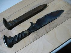 """The """"dirt cheap"""" (literally) guide to forging a knife (not OC)"""