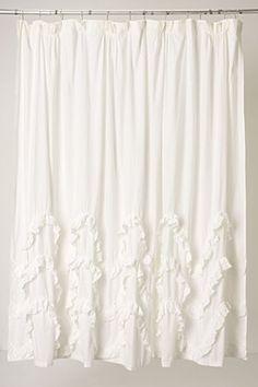 Anthropologie Shower Curtain: Shower curtain
