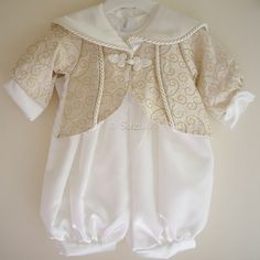 Boys Christening Romper Suit Outfits