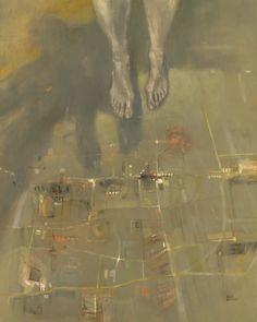 Barbara Porczyńska, Lucid dream, oil on canvas 2014