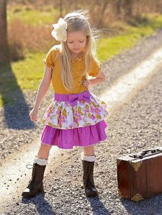 Phoebe's Drop Waist Dress. PDF sewing pattern for toddler girl sizes 2t - 12. - Simple Life Company